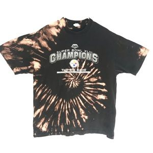 Pittsburg Steelers Custom tiedye T-shirt